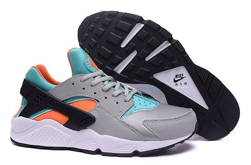 Nike Huarache Gris Blanc