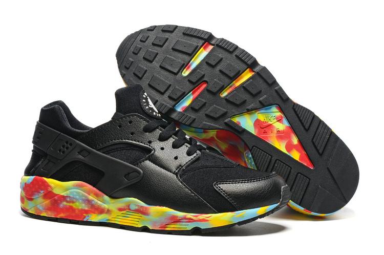 Nike Huarache Noir Blanc