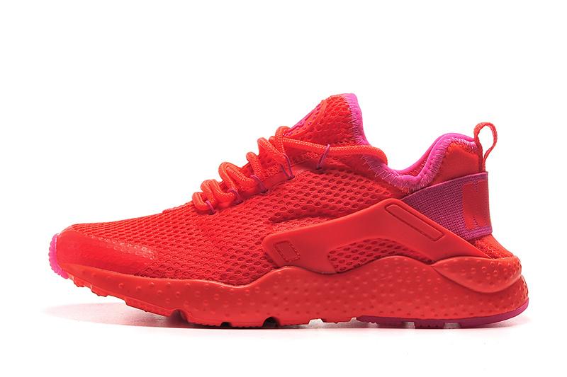 Nike Huarache Noir Et Rouge