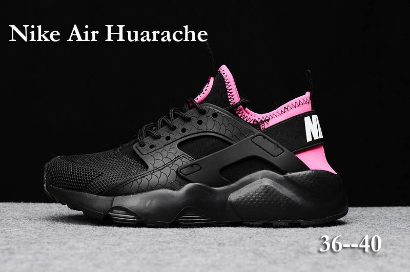 huarache nike 2017 nike huarache ultra noir et rose femme Huarache Run Ultra Blanche Basket Nike Air Huarache Nike Huarache Ultra White