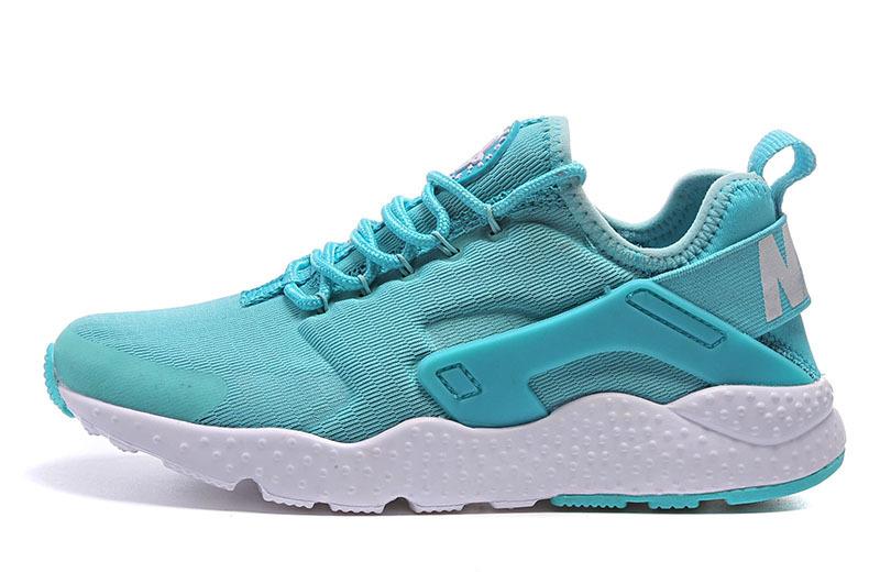 Nike Huarache Bleu Et Blanc