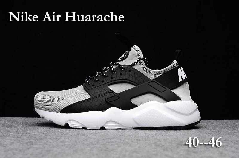 Nike Huarache Blanc Noir