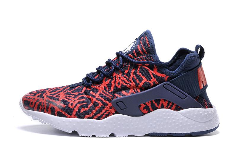 Nike Huarache Blanche Grise