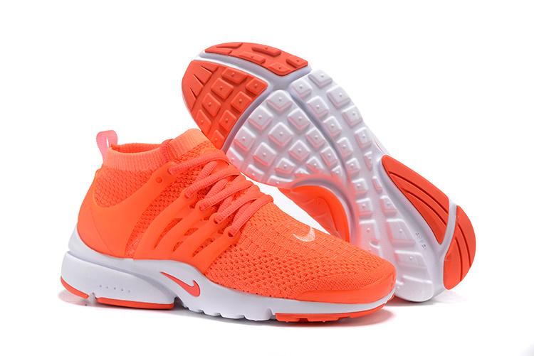 nike air presto pas cher 2017 nike air presto fly orange et blanche Air Presto Nike Flyknit Presto Nike Air Presto Qs
