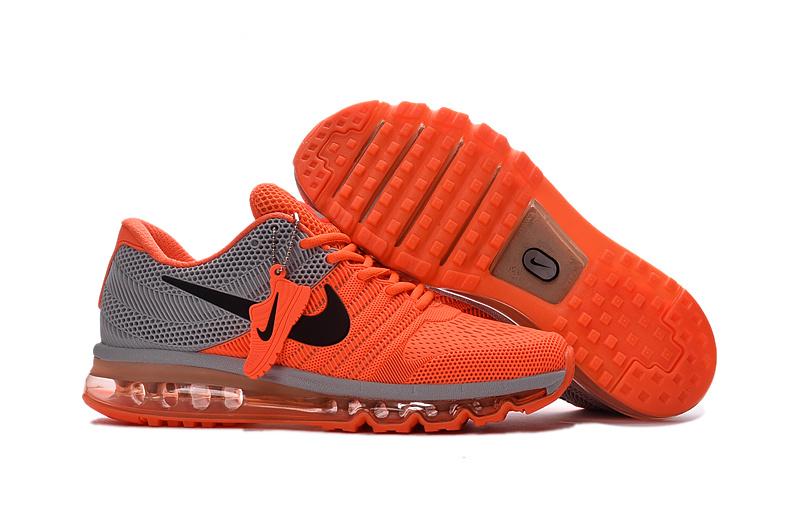 nike air max homme pas cher air max 2017 ultra orange et gris homme Nike Air