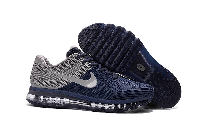 chaussure nike pas cher pour homme air max 2017 ultra gris et bleu homme Nike Air Max 90 Leather Air Max 13 Nike Air 1
