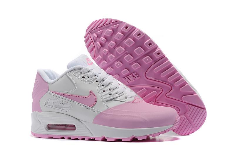 achat nike pas cher 2017 air max 90 blanche et rose femme Nike Air Max 90 Femme Blanche Chaussure Nike Air Pas Cher Basket Air Max 90 Pas Cher