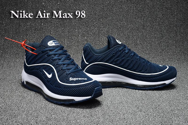 air max 98 blanche homme