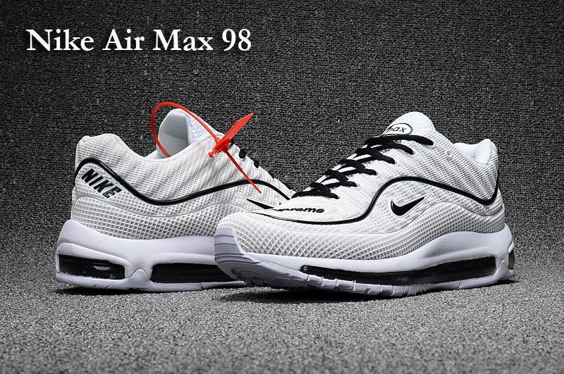 new products 5dd6d 81ec8 air max 98 pas cher nike air max 98 blanche et noir Supreme Nike Supreme Nike  Air Nike Air Force X Supreme